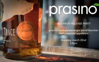 Prasino Bourbon Release Party!
